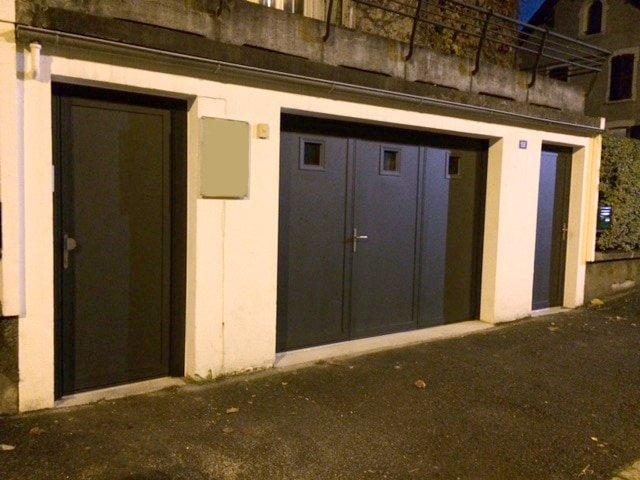 Porte garage pliante